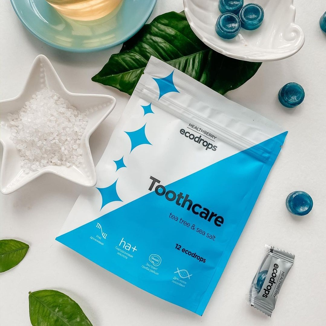 Ecodrops Tooth Care 12 шт.